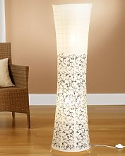 Trango Lampadaire design moderne I lampe en papier
