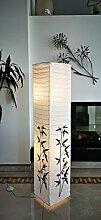 Trango TG1216 lampadaire design en papier de riz,