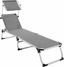 Transat AURELIE - chaise longue de jardin, bain de