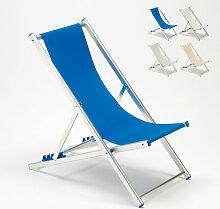 Transat chaise de plage pliante piscine jardin