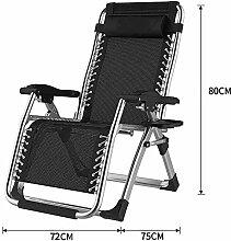 Transat Chaise Jardin Confortable Zero Gravity