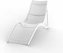 Transat design Ibiza par Vondom - Blanc -