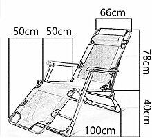 Transat Patio Chaises longues Fauteuil chaise de