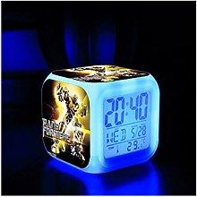 Transformers Alarm Clock, 3D Stéréo LED