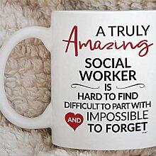 Travail de retraite de travailleur social Merci