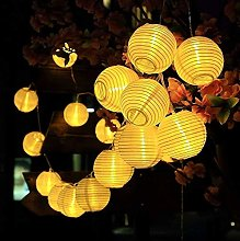 Treer LED Lanterne Guirlande Lumineuse Solaire,