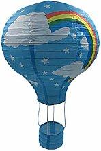 TREESTAR Arc-en-Ballon À Air Chaud en Papier