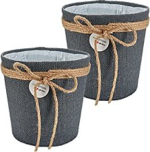 Trendcool Cache Pot Plante Interieur. Pack Pots de