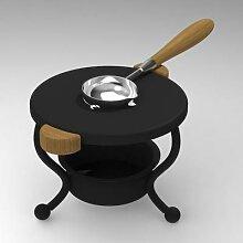 Trépied rétro pour peinture au feu, cire fondue,
