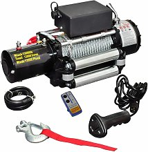 Treuil électrique 12 V 5909 kg HDV07600 - Hommoo