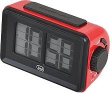 Trevi Horloge Digitale avec Dessin animé, Rouge,