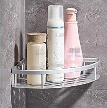 Triangle douche coin salle de bain étagère