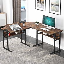 Tribesigns Bureau d'Angle, Table Informatique en