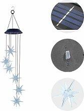 Triomphe Lumière solaire carillon de vent