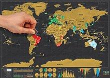 Tripworld ★ Carte du Monde à gratter Version