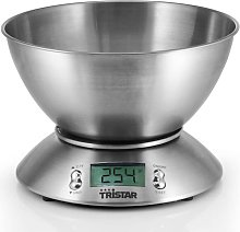 Tristar Balance de cuisine 5 kg avec bol de mesure