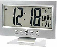 TRIXES Réveil à Piles - Thermomètre