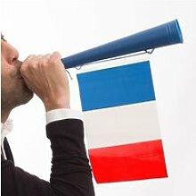 Trompette à drapeau français - supporter