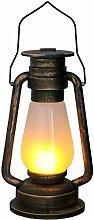 TRONJE Bateau de Mineur Lanterne LED Cuivre
