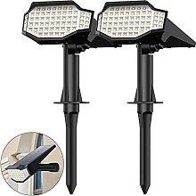 Trswyop Lampe Solaire Extérieur 66 LED Spot