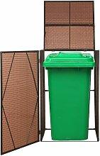 True Deal Cache-poubelles Résine tressée