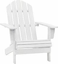 True Deal - Chaise de jardin Bois Blanc