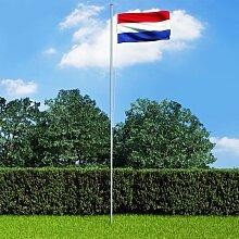 True Deal - Drapeau néerlandais et mât en