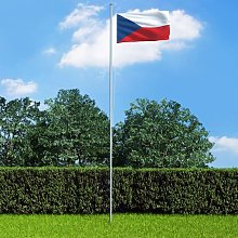 True Deal - Drapeau République tchèque et mât