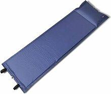 True Deal - Matelas autogonflant bleu 185 x 55 x 3