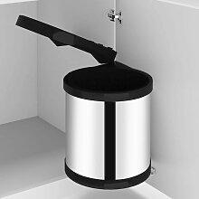 True Deal - Poubelle intégrée de cuisine Acier