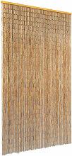 True Deal - Rideau de porte contre insectes Bambou