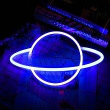 TTAototech Planète Néon Enseignes lumineuses
