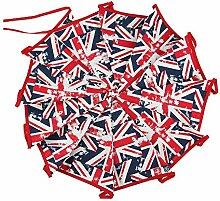 Ttiy Banderole de drapeaux Union Jack pour