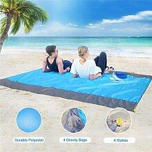 TTLIFE – tapis de plage pliable sans sable,