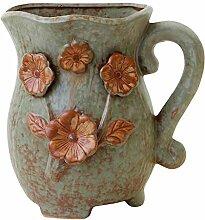 Tubayia Pot de Fleurs Vintage en céramique pour