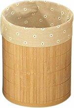 Tubayia Poubelle en Bambou pour Salle de Bain,