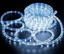 Tube de Lumière à LEDs 10M Guirlande Lumineuse