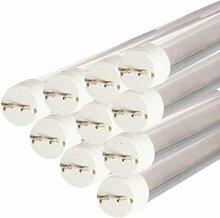 Tube Néon LED 150cm T8 24W (Pack de 10) - couleur
