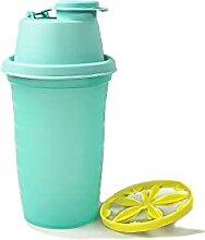 Tupperware Mini Shaker 250 ML Turquoise/Jaune