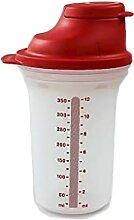 Tupperware Mini Shaker mélangeur 350 ML Rouge