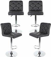 Turefans 2/4PCS, chaises de Bar, Tabouret de Bar,