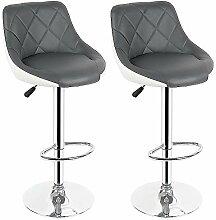 Turefans 2PCS, chaises de Bar, Tabouret de Bar,