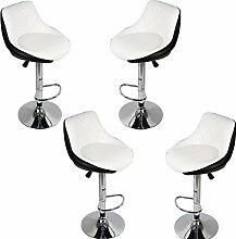 Turefans 4PCS, chaises de Bar, Tabouret de Bar,