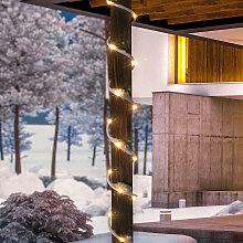Tuyau de lumière solaire PREMIUM 100 LED blanc