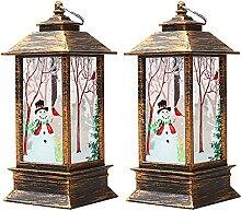 Tyfiner Décoration De Noël Lampe Flamme