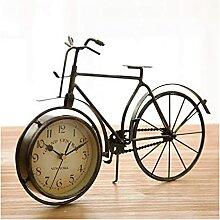 TYUXINSD Joli Horloge de Table Bureau rétro