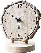 TYUXINSD Joli Horloge de Table Creative Home Blue