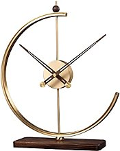 TYUXINSD Joli Statue Sculpture Horloge de Table