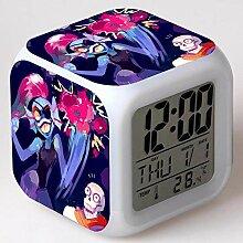 TYWFIOAV Horloge numérique carrée Montre