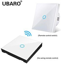 UBARO – interrupteur tactile sans fil EU/UK